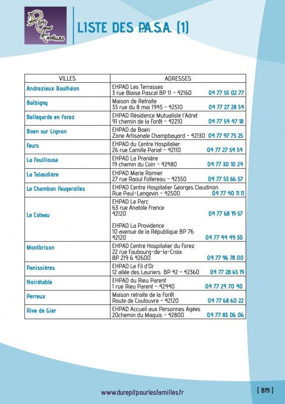 B19 pole d activites et de soins adaptes pasa verso liste 1