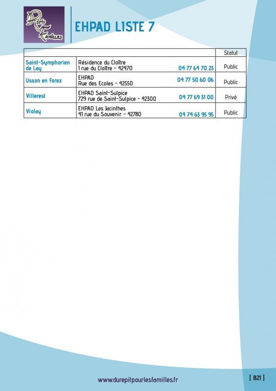 B21 etablissement d hebergement pour personnes agees dependantes ehpad liste 7