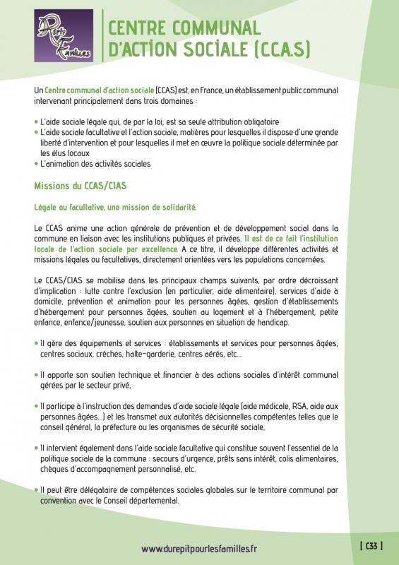 C33 centre communal d action sociale ccas recto