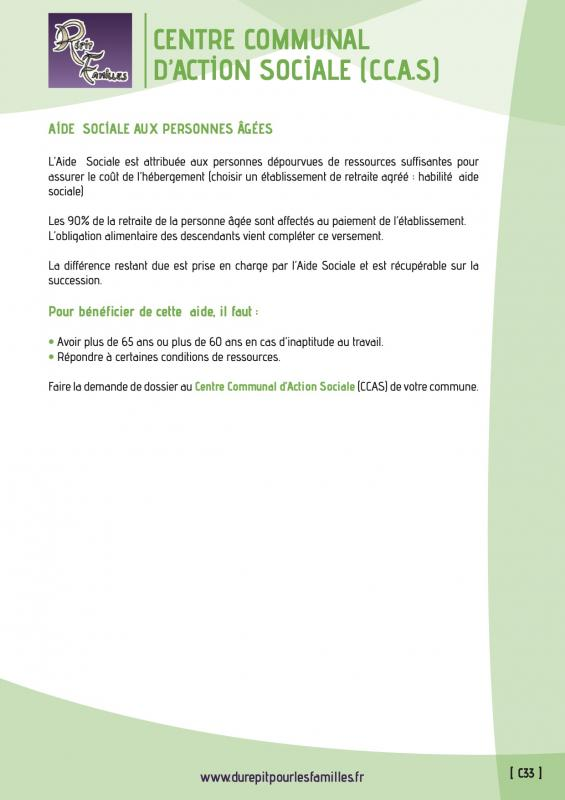C33 centre communal d action sociale ccas verso