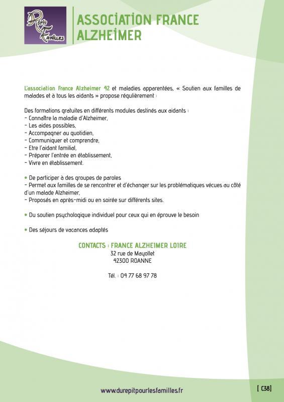C38 association france alzheimer